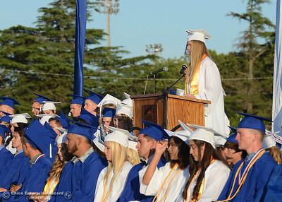 Orland High seniors graduate Friday, June 2, 2017, in Orland, California. (Dan Reidel -- Enterprise-Record)