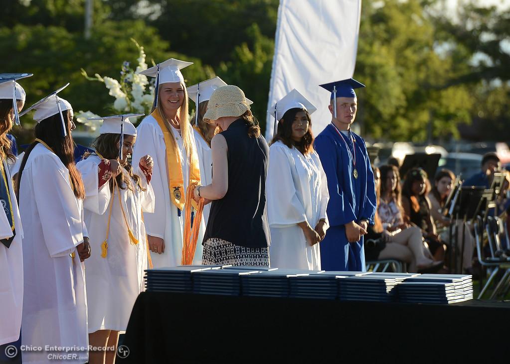 . Orland High seniors graduate Friday, June 2, 2017, in Orland, California. (Dan Reidel -- Enterprise-Record)