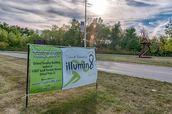 Illumin 8K Walk Run event