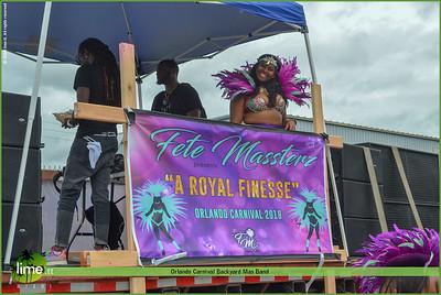 Orlando Carnival Backyard Mas Band