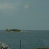 Beobachtungsplatz auf Insel