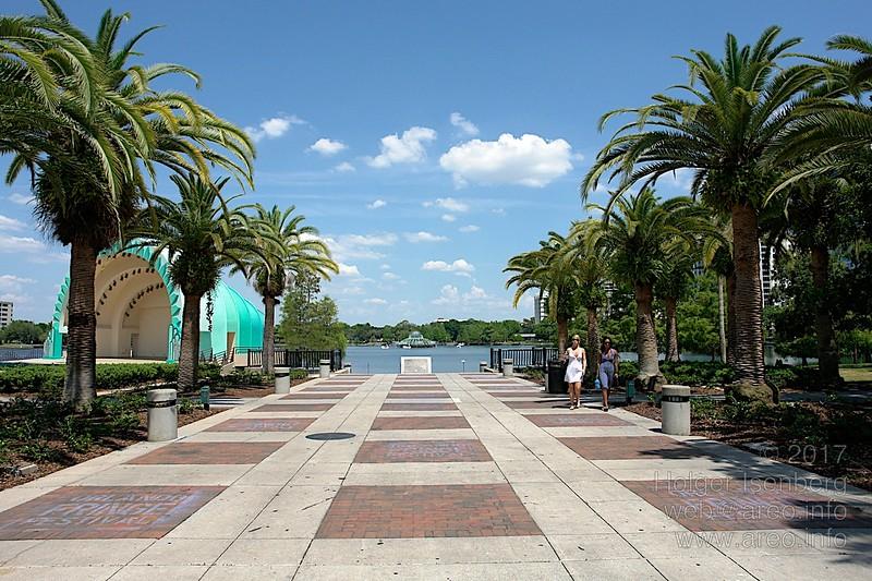 Orlando, Lake Eola, Innenstadt