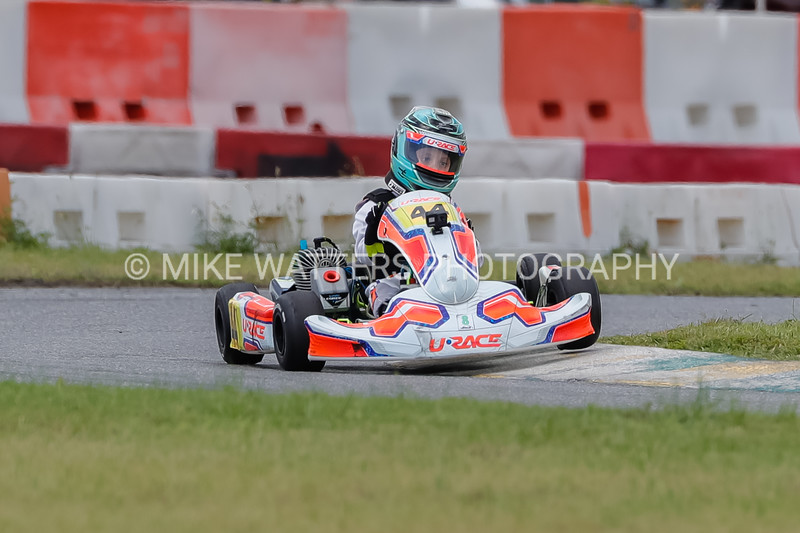 Sept 27, 2020, Orlando, FL, USA; Drivers compete in the Micro-LO206 Cadet division during Round 12 of the Orlando Open race at the Orlando Kart Center Speedway. Mandatory credit: Mike Watters