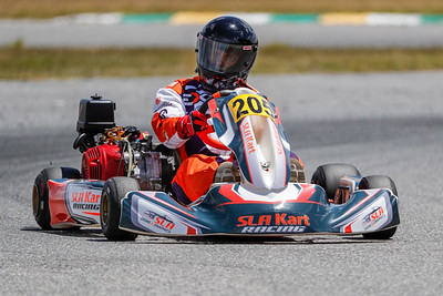 May 17, 2020, Orlando, FL, USA; Drivers compete in round 2, race 2 of the Orlando Open race at The Orlando Kart Center Speedway. Mandatory credit: Mike Watters