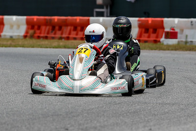 May 17, 2020, Orlando, FL, USA; Drivers compete in round 2, race 3 of the Orlando Open race at The Orlando Kart Center Speedway. Mandatory credit: Mike Watters
