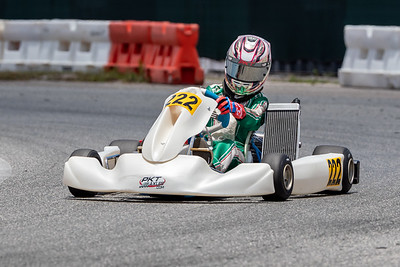 May 17, 2020, Orlando, FL, USA; Drivers compete in round 2, race 6 of the Orlando Open race at The Orlando Kart Center Speedway. Mandatory credit: Mike Watters