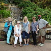 Karen, Barbara, Joyce, Karen and Ron at Sea World.