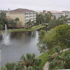 View from our room at the Sheraton Vistana Villages Resort Villas,  in Orlando.