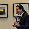 KRISTOPHER RADDER — BRATTLEBORO REFORMER<br /> Vermont Lt. Gov. David Zuckerman speaks highly of Orly Munzing, former executive director and founder of Strolling of the Heifers,  and of the event that she created during a retirement party at the River Garden, in Brattleboro, on Friday, Jan. 31, 2020.