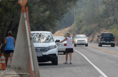 Locals are getting their first look at the Oroville Dam Spillway since the emergency that closed Oro Dam Blvd. East to the public more than a year ago Monday, July 30, 2018. (Bill Husa -- Enterprise-Record)