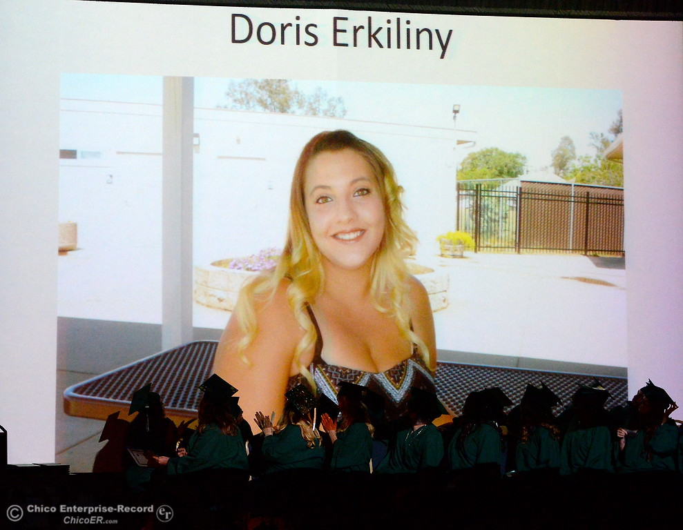 . during the Oroville Adult Education Center Class of 2018 graduation ceremonies at the State Theater in Oroville, Calif. Tuesday June 5, 2018. (Bill Husa -- Enterprise-Record)