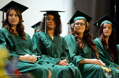 during the Oroville Adult Education Center Class of 2018 graduation ceremonies at the State Theater in Oroville, Calif. Tuesday June 5, 2018. (Bill Husa -- Enterprise-Record)