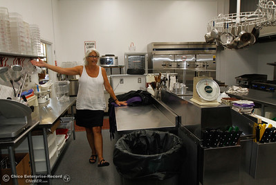 Home economics teacher Toni Morucci prepares the her kitchen classroom for the start of the fall semester August 15, 2016 at Oroville High School in Oroville, Calif. (Emily Bertolino -- Mercury Register)