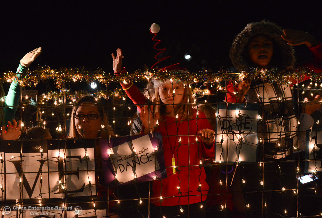 . The Oroville Parade of Lights Saturday December 9, 2017 in downtown Oroville, California. (Emily Bertolino -- Mercury-Register)