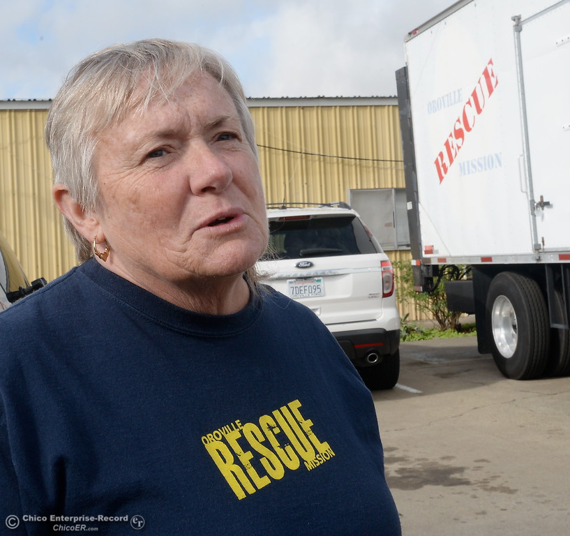 . Family Services Director Annie Terry talks about the Mission during a tour of the Oroville Rescue Mission on Lincoln Blvd. in Oroville, Calif. Thurs. Nov. 9, 2017.  (Bill Husa -- Enterprise-Record)