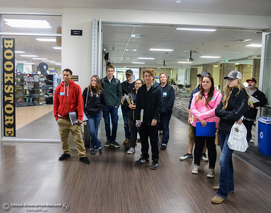 Prospective students tour Butte College Thursday January 11, 2018 at Butte College in Butte Valley, California. (Emily Bertolino -- Enterprise-Record)