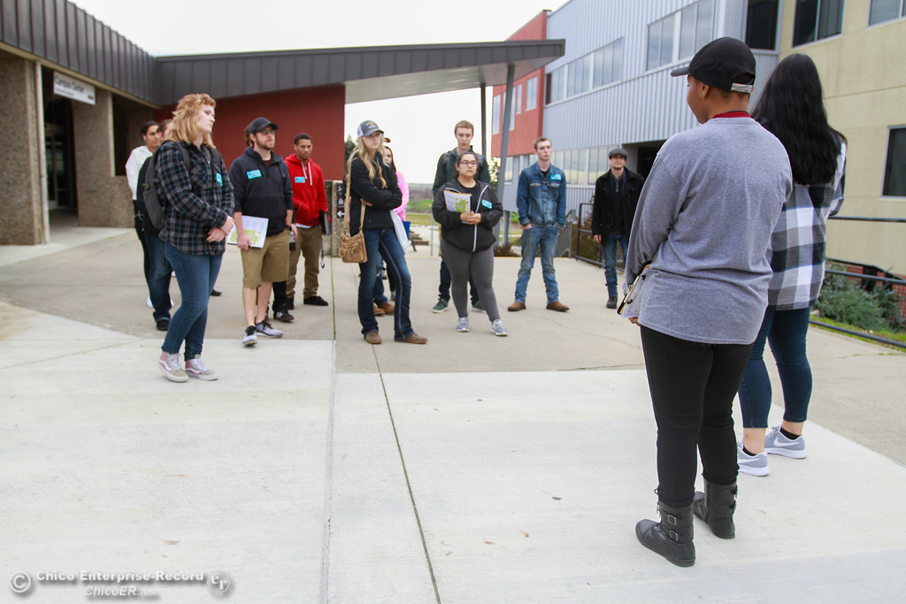 . Prospective students tour Butte College Thursday January 11, 2018 in Butte Valley, California. (Carin Dorghalli -- Enterprise-Record)