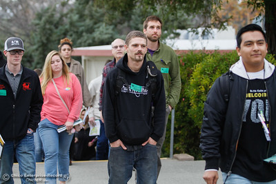 Prospective students tour Butte College Thursday January 11, 2018 in Butte Valley, California. (Carin Dorghalli -- Enterprise-Record)