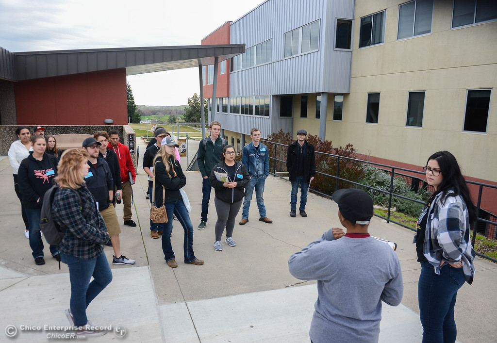 . Prospective students tour Butte College Thursday January 11, 2018 at Butte College in Butte Valley, California. (Emily Bertolino -- Enterprise-Record)