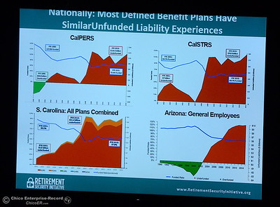 during the North State Economic Forecast Conference at Gold Country Casino in Oroville, Calif. Thurs. Jan. 18, 2018. (Bill Husa -- Enterprise-Record)