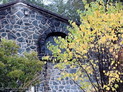 The colors of fall are seen near the Bath House Museum at the Feather River Nature Center in Oroville, Calif. Friday Oct. 14, 2016. (Bill Husa -- Enterprise-Record)