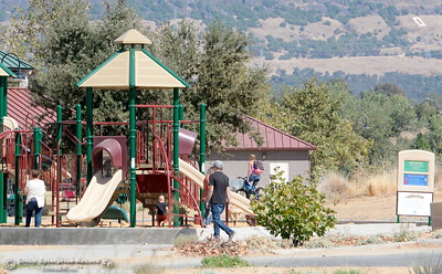 People of all walks of life roam around at Riverbend Park in Oroville, Calif. Friday Sept. 22, 2017. (Bill Husa -- Enterprise-Record)