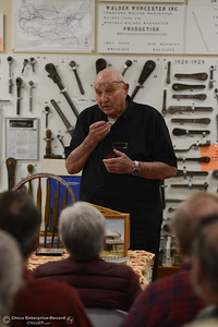 Bud Bolt of Bolt's Antique Tools in Oroville, Saturday, February 16, 2018, in Oroville, California. (Carin Dorghalli -- Enterprise-Record)