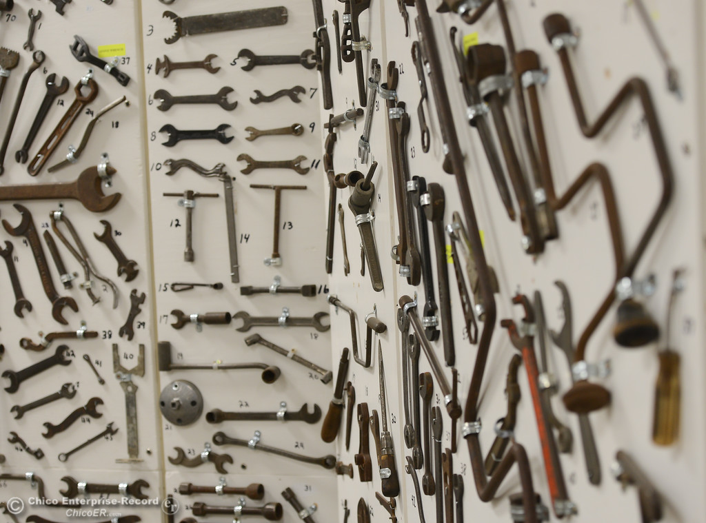 . Bolt\'s Antique Tools in Oroville, Saturday, February 16, 2018, in Oroville, California. (Carin Dorghalli -- Enterprise-Record)