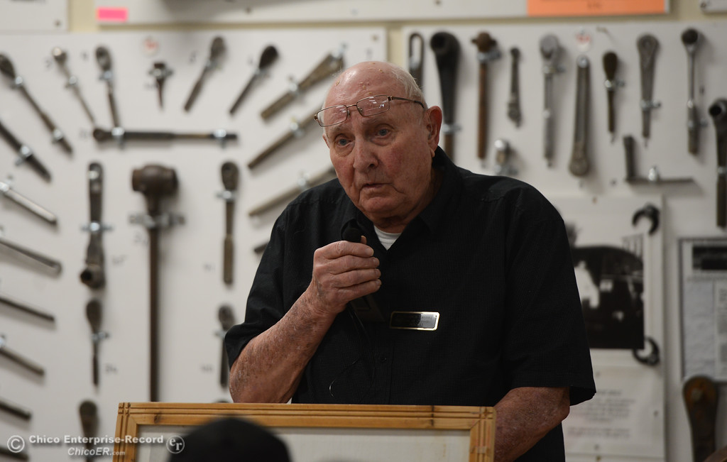 . Bud Bolt of Bolt\'s Antique Tools in Oroville, Saturday, February 16, 2018, in Oroville, California. (Carin Dorghalli -- Enterprise-Record)