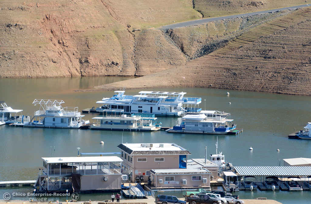 . a look around Lake Oroville near Bidwell Canyon Marina Wednesday Feb. 21, 2018.  (Bill Husa -- Enterprise-Record)