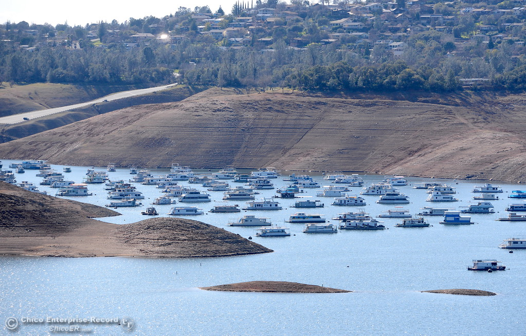 . The Bidwell Canyon Marina launch facility is seen at Lake Oroville Wednesday Feb. 21, 2018.  (Bill Husa -- Enterprise-Record)