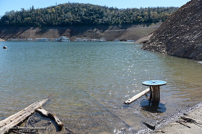 Lake levels remain low at Lake Oroville but the boat launch is open at Lime Saddle Marina in Paradise, Calif. Monday March 5, 2018. (Bill Husa -- Enterprise-Record)
