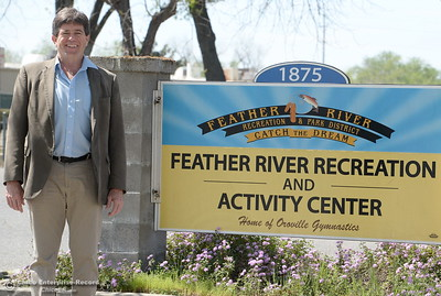 New General Manager of FRRPD Randy Murphy smiles at the Feather River Recreation and Parks office in Oroville, Calif. Wed. April 4, 2018. (Bill Husa -- Enterprise-Record)