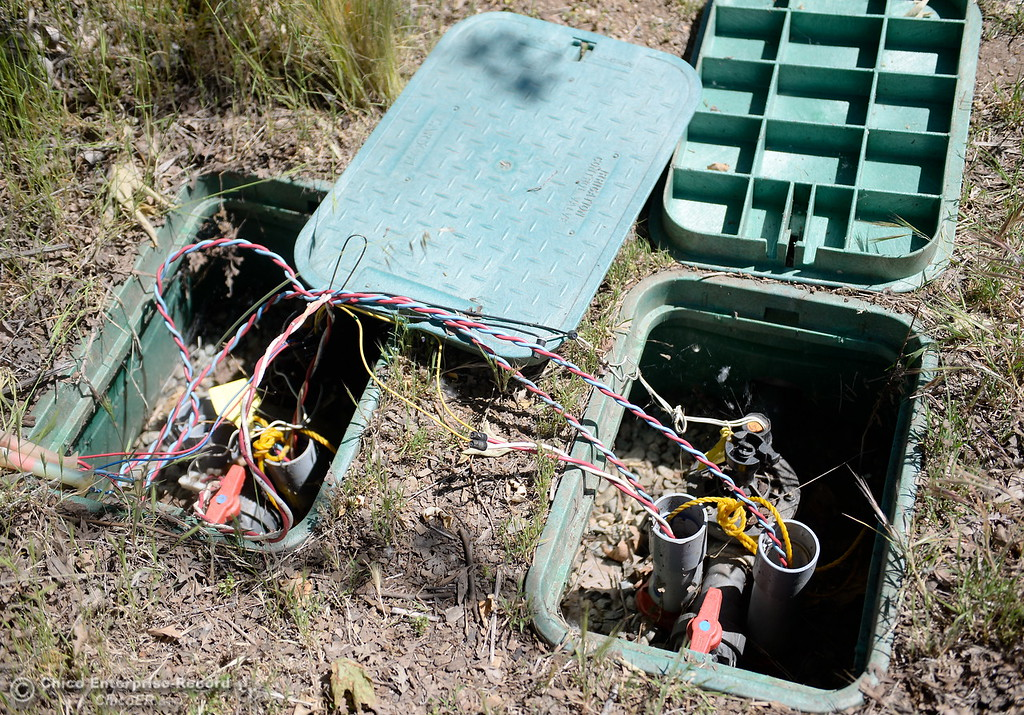 . Lots of repairs to electrical items are needed while Riverbend Park remains closed as construction is underway on repairs to the park in Oroville, Calif. Wednesday May 2. 2018. (Bill Husa -- Enterprise-Record)