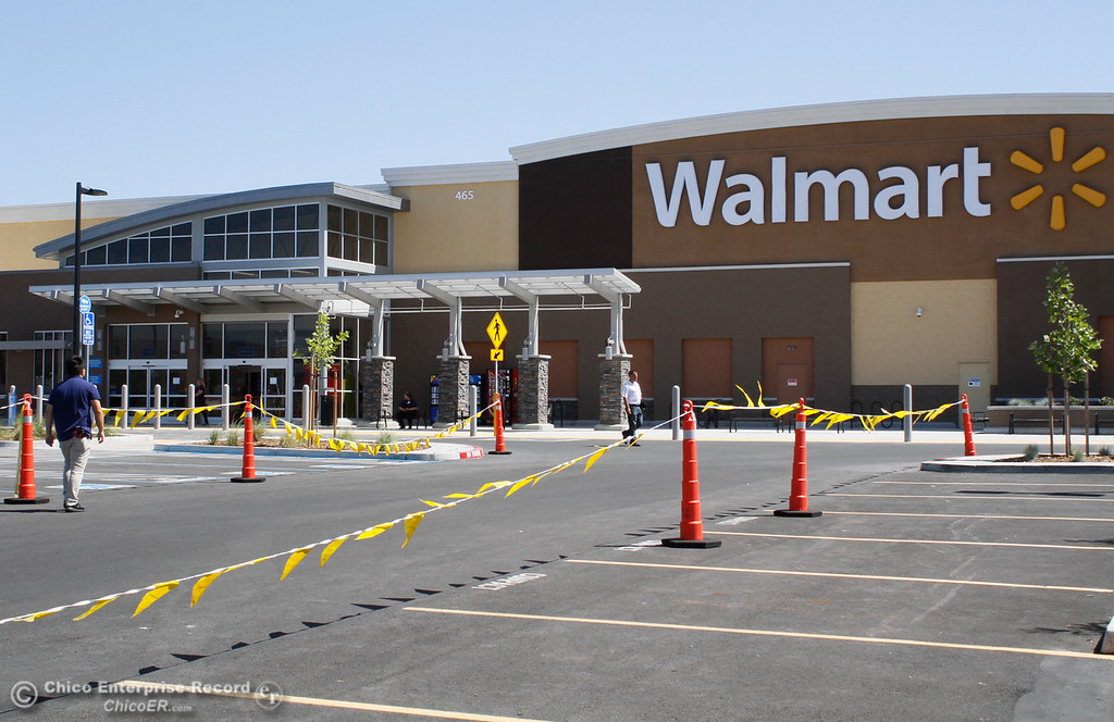 . Walmart employees spend the day preparing for the grand opening of the new Super Walmart Tuesday June 6, 2017 in Oroville, California. (Emily Bertolino -- Mercury Register)