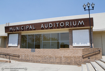 A cooling center at the Municipal Auditorium is open 10 a.m.-9 p.m. as temperatures reach into the triple digits Monday June 19, 2017 in Oroville, California. (Emily Bertolino -- Mercury Register)
