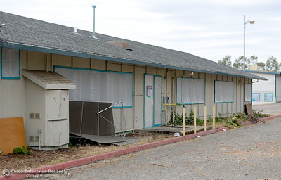 Old CAL FIRE offices on Nelson Ave. are scheduled for demolition in Oroville, Calif. Wed. May 16, 2018.  (Bill Husa -- Enterprise-Record)