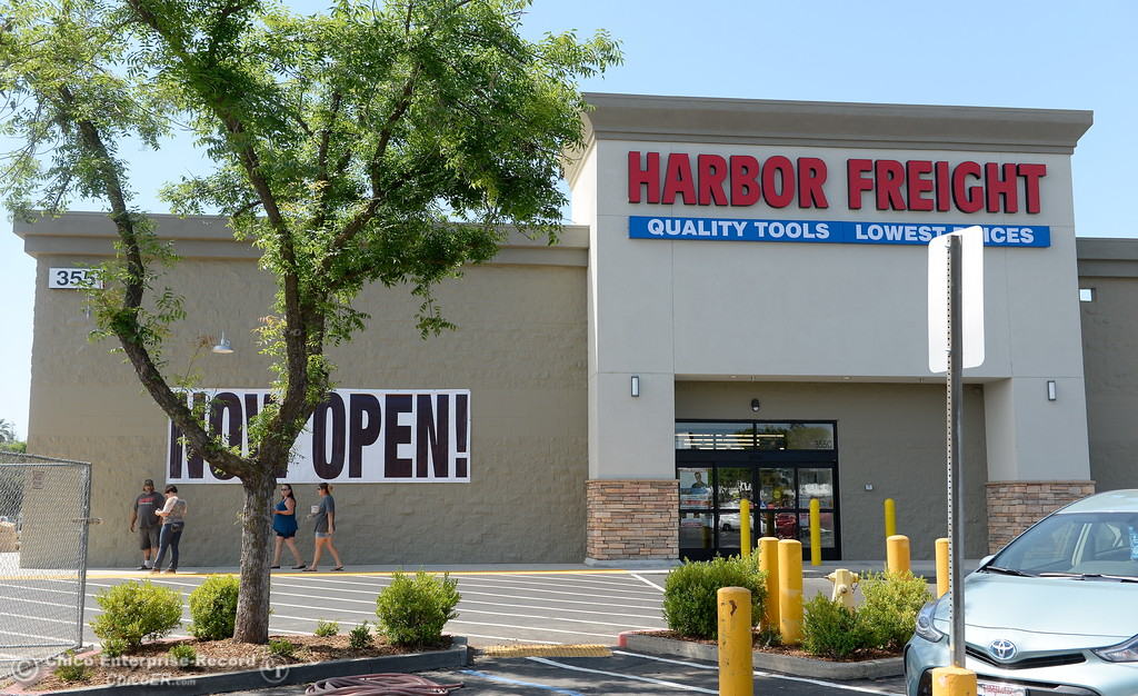 . Harbor Freight is now open at the old Walmart Shopping Center on Oro Dam Blvd. in Oroville, Calif. Tues. May 22, 2018.  (Bill Husa -- Photos)