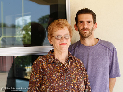 If you are to go to a game at Harrison Stadium you will be sure to see Nonie Buis and her son Jeremy Buis, together they play many roles in helping with youth and high school sports throughout the year August 15, 2016 at Harrison Stadium in Oroville, Calif. (Emily Bertolino -- Mercury Register)