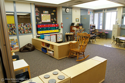 Sierra Del Oro Elementary School has reopened this year after closing due to a fire in 2014 August 15, 2016 in Oroville, Calif. (Emily Bertolino -- Mercury Register)