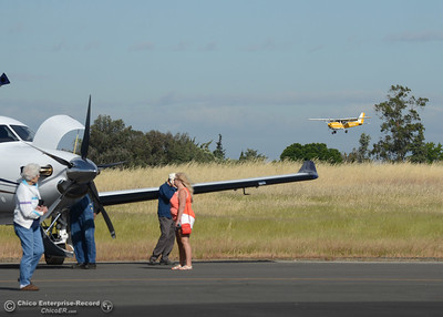 Planes, cars and motorcycles Saturday, May 14, 2016, at the Oroville Airport in Oroville, California. (Dan Reidel -- Enterprise-Record)