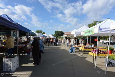 The Oroville Certified Farmers Markets has relocated Saturday, May 14, 2016, to Riverbend Park in Oroville, California. (Dan Reidel -- Enterprise-Record)