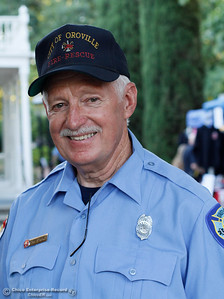 "Stan Starkey at the annual National Night Out, a ""community-building campaign that promotes police-community partnerships and neighborhood camaraderie to make our neighborhoods safer, better places to live"" August 2, 2016 at the Lott Home in Oroville, Calif. (Emily Bertolino -- Mercury Register)"