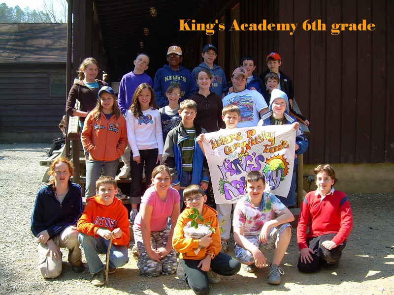 King's Academy 6th grade