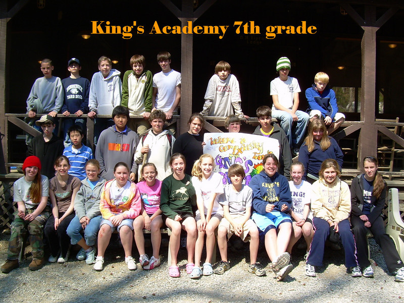 King's Academy 7th grade