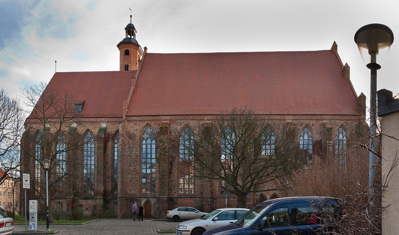 Brandenburg, Paulikloster. Ansicht von Norden
