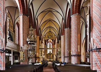 Brandenburg, St. Gotthardt. Inneres nach Osten