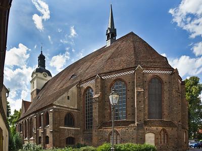Brandenburg, St. Gotthardt. Ansicht von Südosten