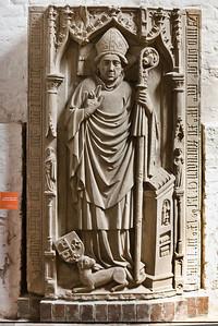 Brandenburg, Dom. Grabmal Bischof Stephan Bodemer (gest. 1459)