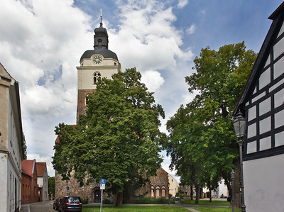 Brandenburg, St. Gotthardt. Ansicht von Westen
